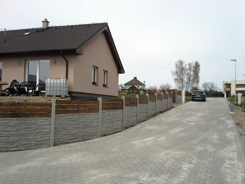 Betonové ploty na klíč